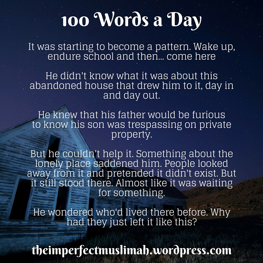 100 words a day