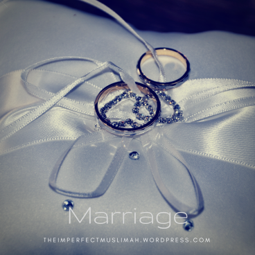 theimperfectmuslimah Marriage
