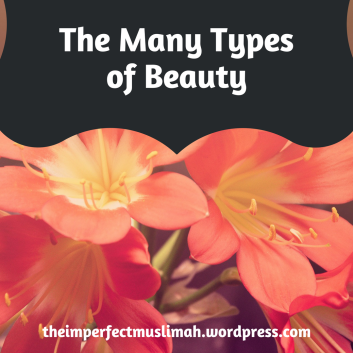 theimperfectmuslimah The Many Types of Beauty