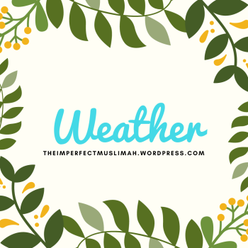 theimperfectmuslimah Weather