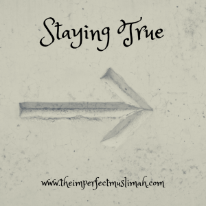 Staying True Graphic